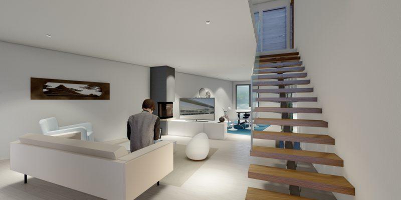 Imagem interior - sala