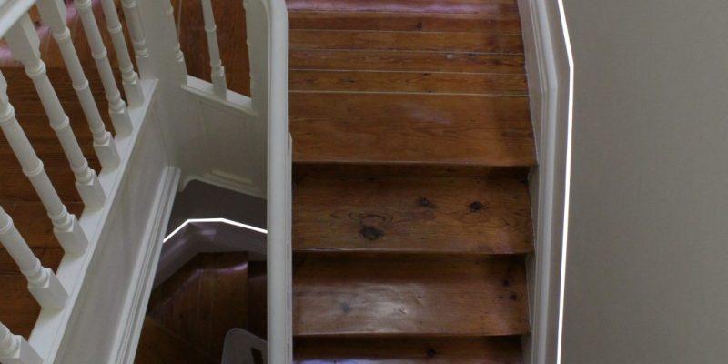 Detalhe - escadaria