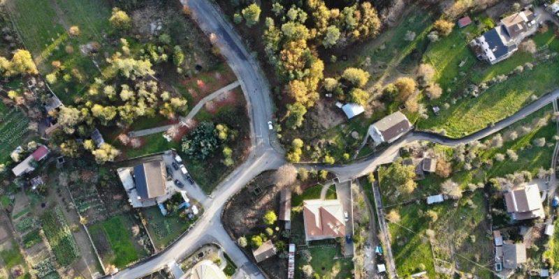 Localização - foto aérea