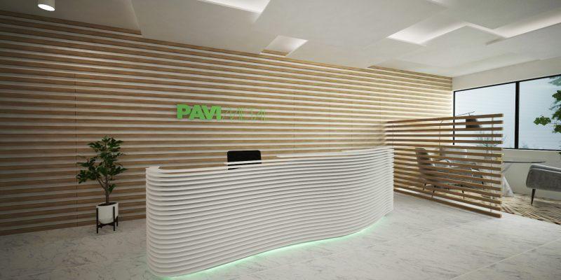 pav_ recepção